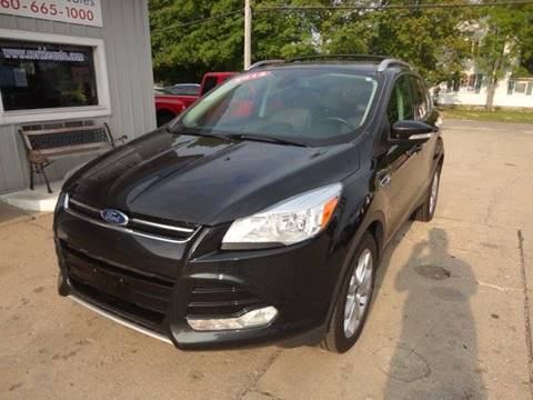 2014 Ford Escape for sale at Corkle Auto Sales INC in Angola IN