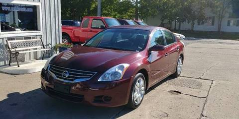 2010 Nissan Altima for sale at Corkle Auto Sales INC in Angola IN