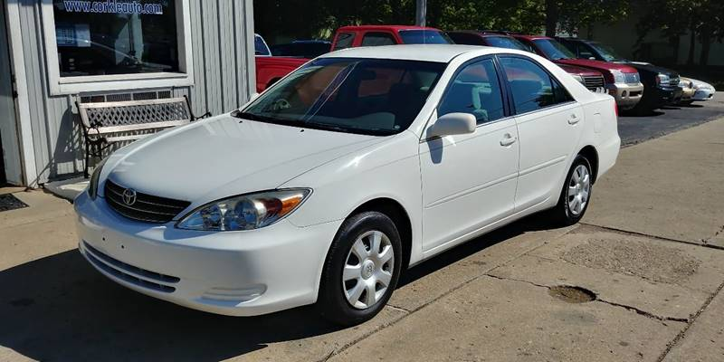 2004 Toyota Camry for sale at Corkle Auto Sales INC in Angola IN