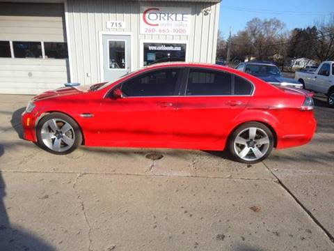 2009 Pontiac G8 for sale in Angola, IN