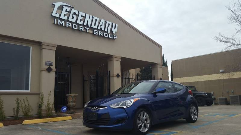 2016 Hyundai Veloster For Sale At Legendary Import Group In Baton Rouge LA