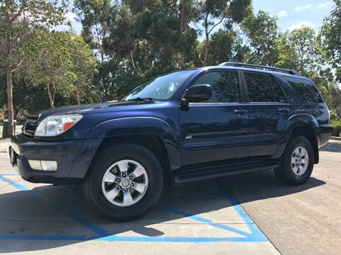 2004 Toyota 4Runner for sale in San Diego CA