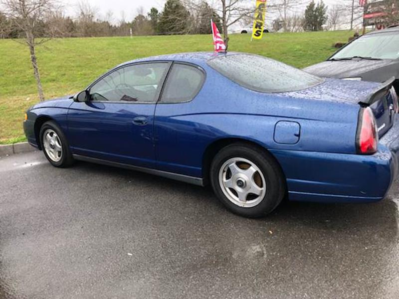 2005 Chevrolet Monte Carlo For Sale At Autoworks LLC In Sevierville TN