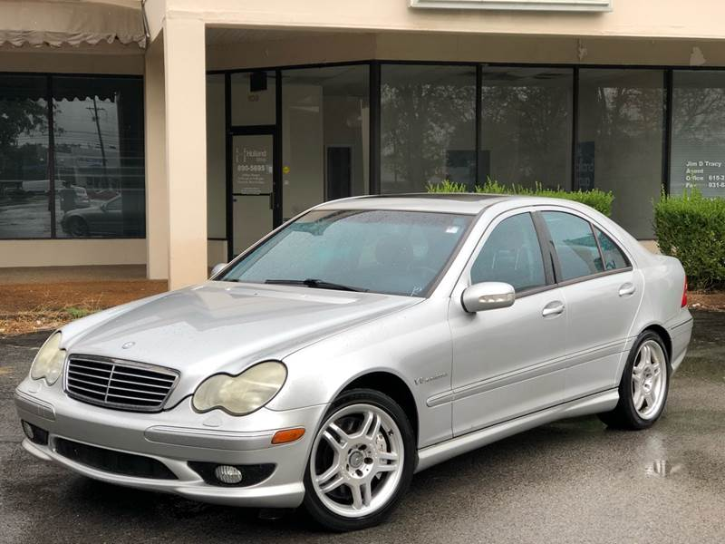 2002 Mercedes Benz C Class For Sale At Aman Auto Mart In Murfreesboro TN