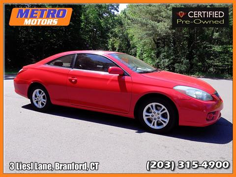 2007 Toyota Camry Solara for sale in Branford, CT
