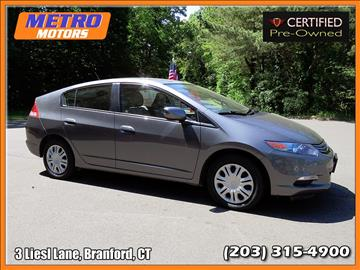2010 Honda Insight for sale in Branford, CT