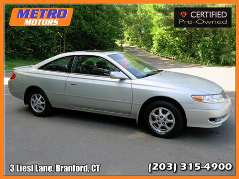 2002 Toyota Camry Solara for sale in Branford, CT