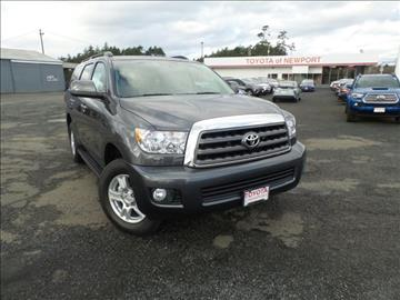 2017 Toyota Sequoia for sale in Newport, OR