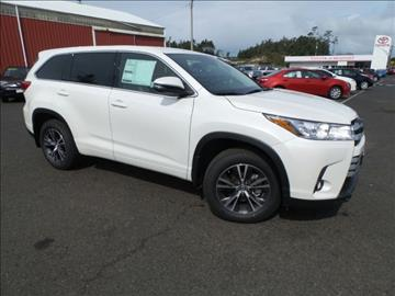 2017 Toyota Highlander for sale in Newport, OR
