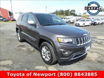 2015 Jeep Grand Cherokee for sale in Newport, OR