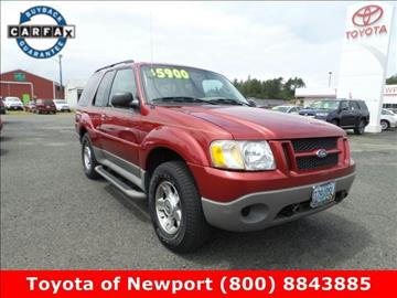 2003 Ford Explorer Sport for sale in Newport, OR