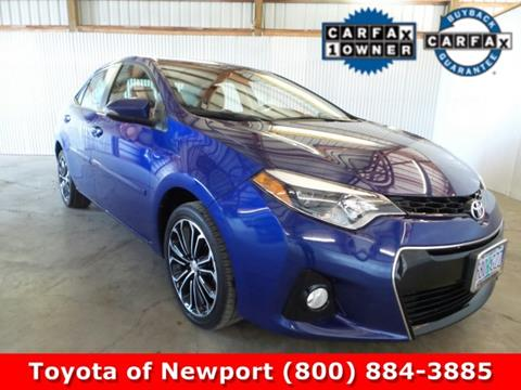 2014 Toyota Corolla for sale in Newport, OR
