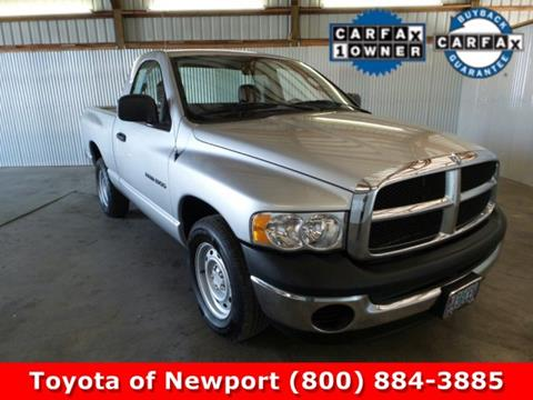 2005 Dodge Ram Pickup 1500 for sale in Newport, OR