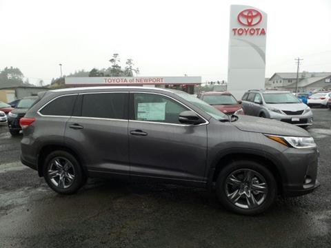 2017 Toyota Highlander for sale in Newport, OR