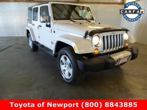 2012 Jeep Wrangler Unlimited for sale in Newport, OR
