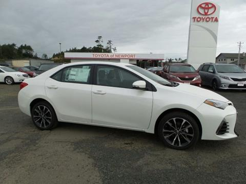 2018 Toyota Corolla for sale in Newport, OR