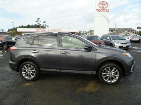 2018 Toyota RAV4 Hybrid for sale in Newport, OR