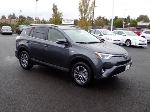 2018 Toyota RAV4 Hybrid for sale in Corvallis, OR