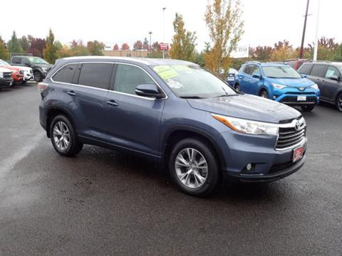2015 Toyota Highlander for sale in Corvallis, OR