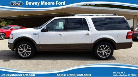 2015 Ford Expedition EL for sale in Hughes Springs, TX