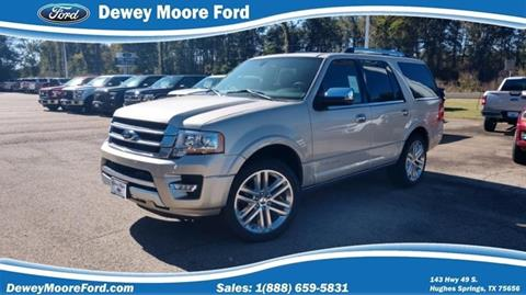 2017 Ford Expedition for sale in Hughes Springs, TX