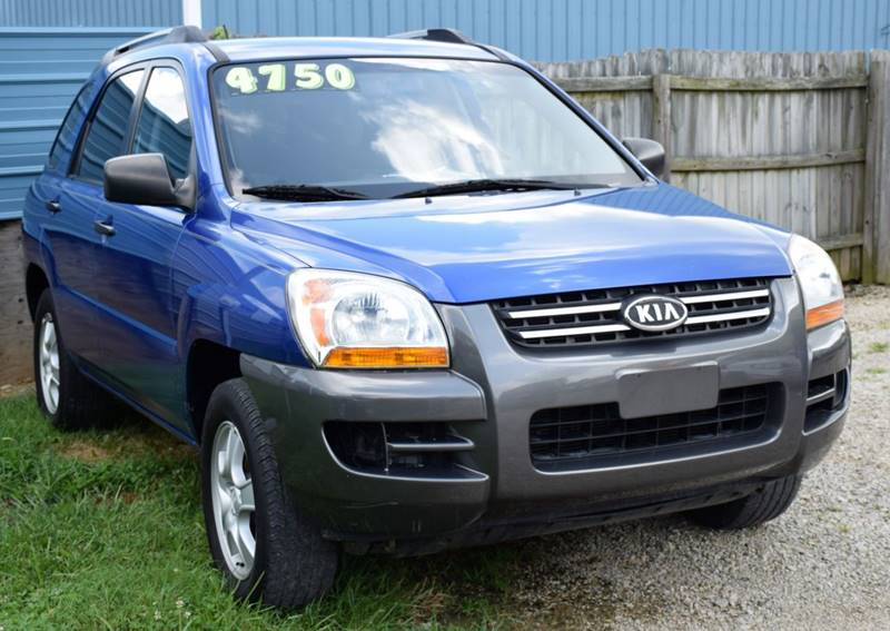 2007 Kia Sportage For Sale At PINNACLE ROAD AUTOMOTIVE LLC In Moraine OH