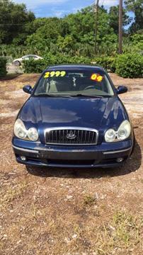 2004 Hyundai Sonata for sale in Palm Harbor, FL