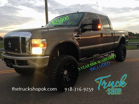 2008 Ford F-250 Super Duty for sale in Okemah, OK