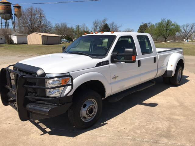 2013 ford f-350 super duty xl in okemah ok - the truck shop