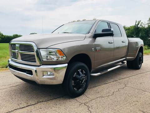 2010 Dodge Ram Pickup 3500 for sale at The Truck Shop in Okemah OK