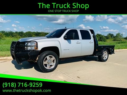 Trucks For Sale In Oklahoma >> 2013 Chevrolet Silverado 2500hd For Sale In Okemah Ok
