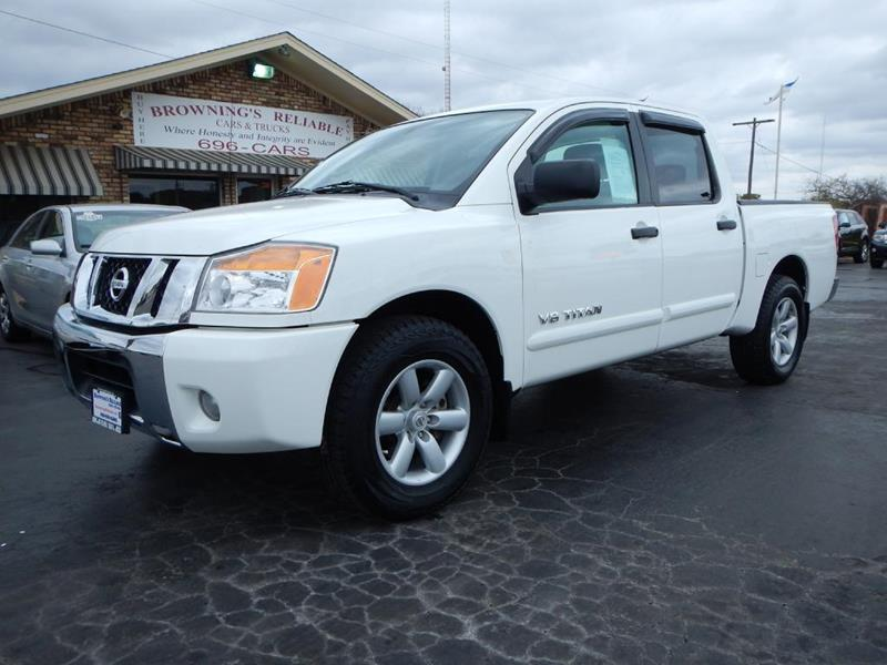 2011 Nissan Titan In Wichita Falls TX - Browning\'s Reliable Cars ...
