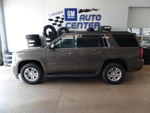 2015 Chevrolet Tahoe for sale in Laramie, WY