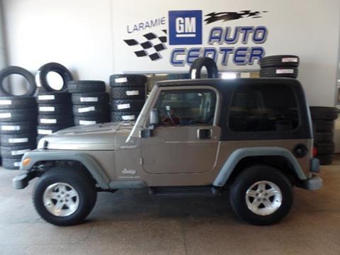 2004 Jeep Wrangler for sale in Laramie, WY