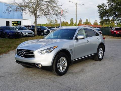2016 Infiniti QX70 for sale in Clearwater, FL