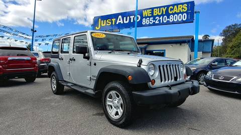 2012 Jeep Wrangler Unlimited for sale in Knoxville, TN
