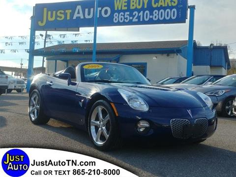 2009 Pontiac Solstice for sale in Knoxville, TN