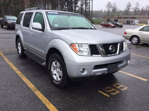 2005 Nissan Pathfinder for sale in Milford, NH