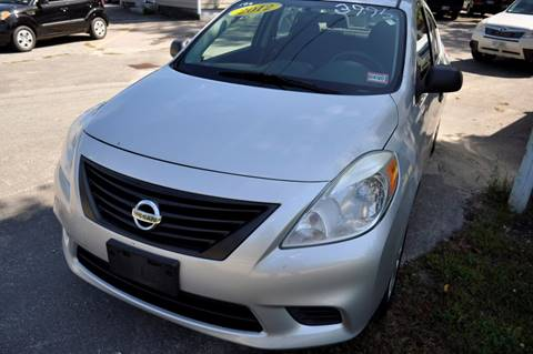 2012 Nissan Versa for sale in Milford, NH