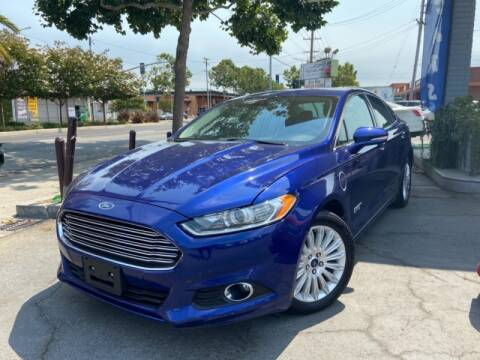 2013 Ford Fusion Energi for sale at Autolink in San Leandro CA