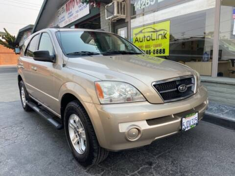 2004 Kia Sorento for sale at Autolink in San Leandro CA
