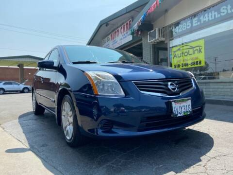 2012 Nissan Sentra for sale at Autolink in San Leandro CA