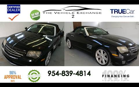 2005 Chrysler Crossfire for sale in Hollywood, FL