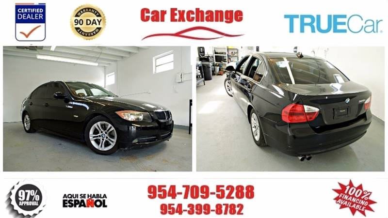 2008 BMW 3 Series for sale at CAR EXCHANGE in Hollywood FL