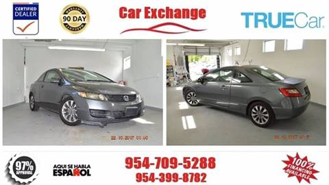 2009 Honda Civic for sale at CAR EXCHANGE in Hollywood FL