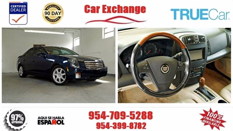 2004 Cadillac CTS for sale at CAR EXCHANGE in Hollywood FL