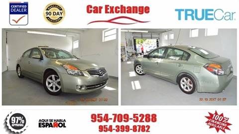 2007 Nissan Altima for sale at CAR EXCHANGE in Hollywood FL
