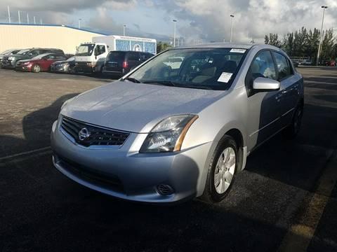 2012 Nissan Sentra for sale at CAR EXCHANGE in Hollywood FL