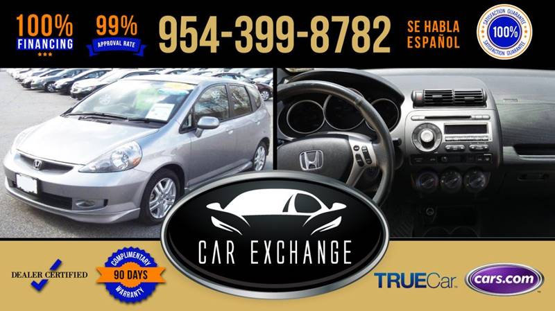 2008 Honda Fit For Sale At CAR EXCHANGE In Hollywood FL