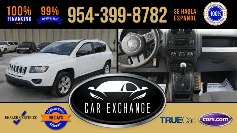 2014 Jeep Compass For Sale At CAR EXCHANGE In Hollywood FL
